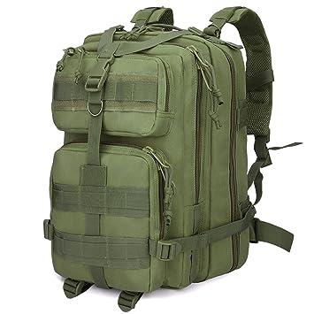 G4Free 40L resistente al agua táctico mochila ejército Militar mochila Molle mochila para al aire libre senderismo camping senderismo Caza viaje, ...