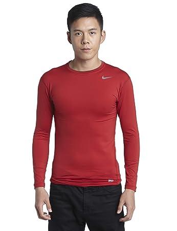 Nike Pro Core Mens Tight Long Sleeve Crew Neck Shirt