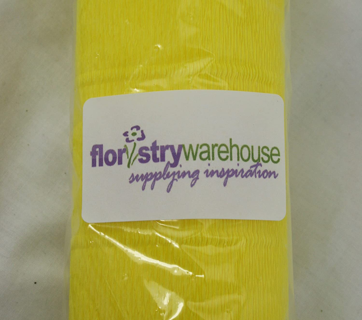 FloristryWarehouse Metallic Platinum 806 Crepe Paper Roll 20 Inches Wide x 8ft Long Top Quality Italian Paper Craft