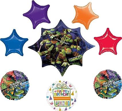Amazon.com: Teenage Mutant Ninja Turtles Party Supplies ...