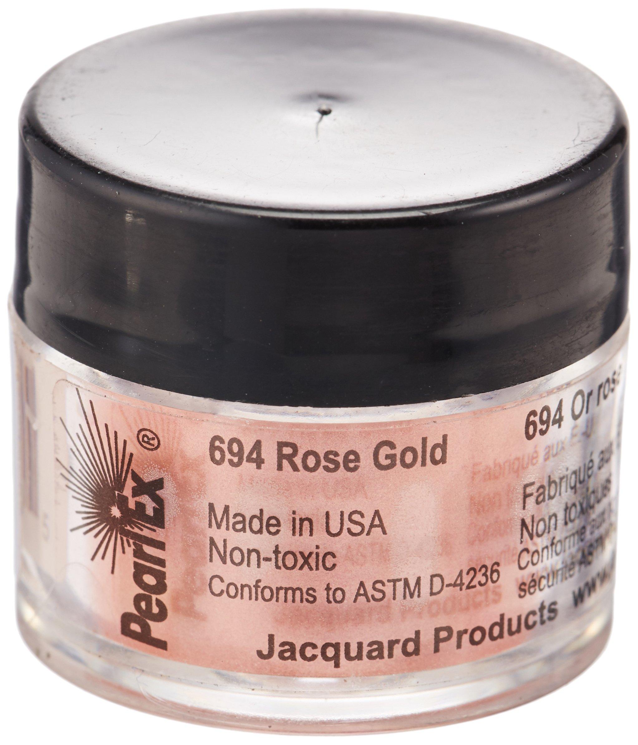 Pigmento Jacquard Pearl Ex 3gr. Oro Rosa