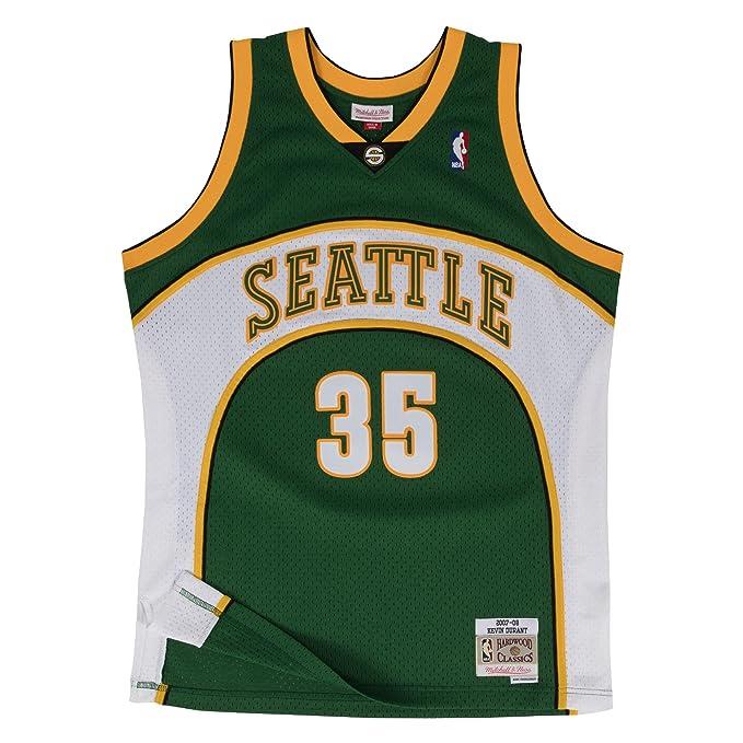 Camiseta Swingman vintage Mitchell & Ness Kevin Durant en Seattle Supersonics Talla L