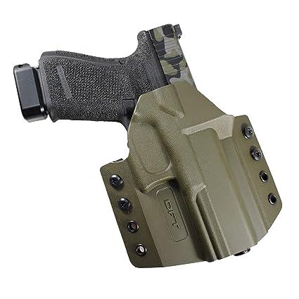 Amazon com : CO v 2 OWB Kydex Holster, Glock 19/23/32/17/22