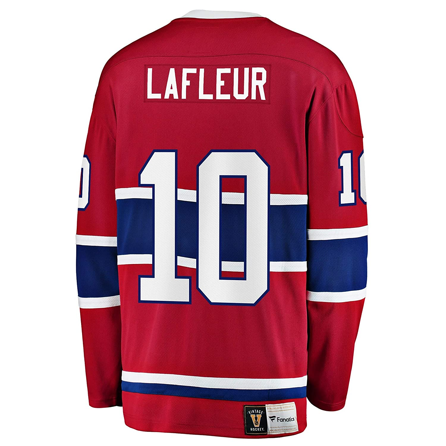 TOU DLE Mens//Womens//Youth Guy Lafleur Red Player Jersey