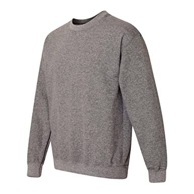 665479fb Gildan Heavy Blend Unisex Adult Crewneck Sweatshirt (S, Graphite Heather)