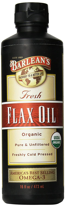 Barlean's Organic Oils Fresh Flax Oil, 16-Ounce Bottle