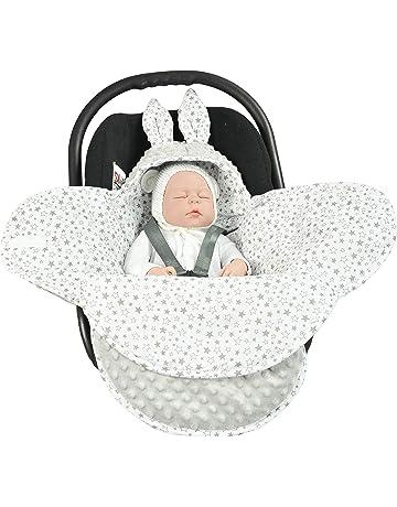 Manta para bebé EliMeli universal para capazo, silla de coche, cochecito y cuna,