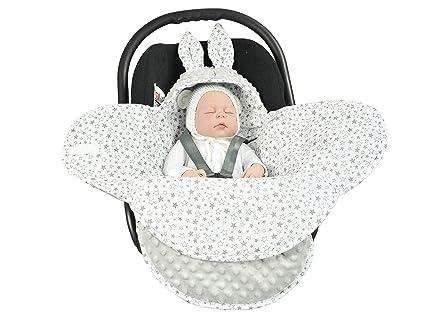 Manta para bebé EliMeli universal para capazo, silla de ...