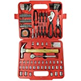 110 Piece Tool Set Home Repair Ultra Steel Kit Case Mechanics Pc Tools New