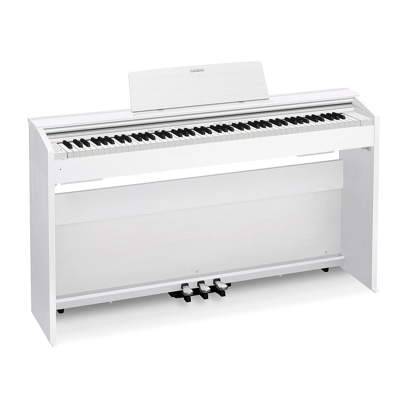 Amazon.com: Casio PX870 WH Privia Digital Home Piano, White: Musical  Instruments