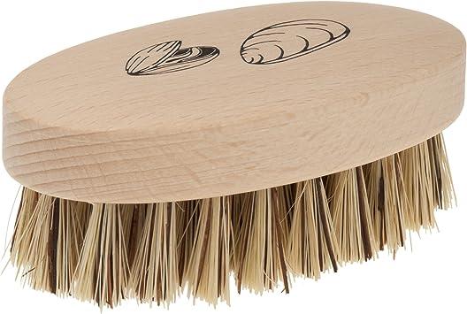 10 Wooden Shell Shaped Hand Nail Brush//Scrub Brush