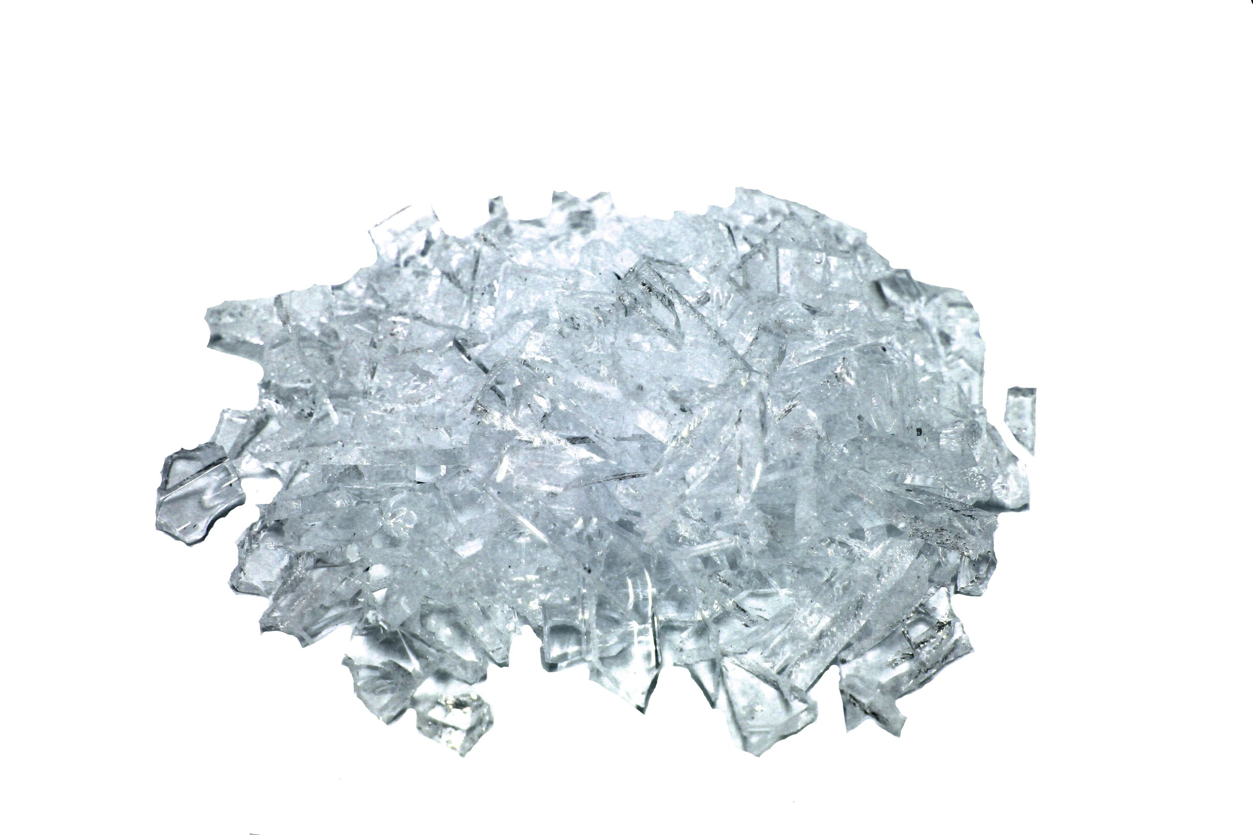 Rubber Glass Broken Pieces Professional Movie or Theatre Props 1lb Pack
