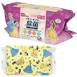ディズニー プリンセス ノンアルコール 除菌 ウェットシート 60枚入×3個 (日本製) パラベンフリー