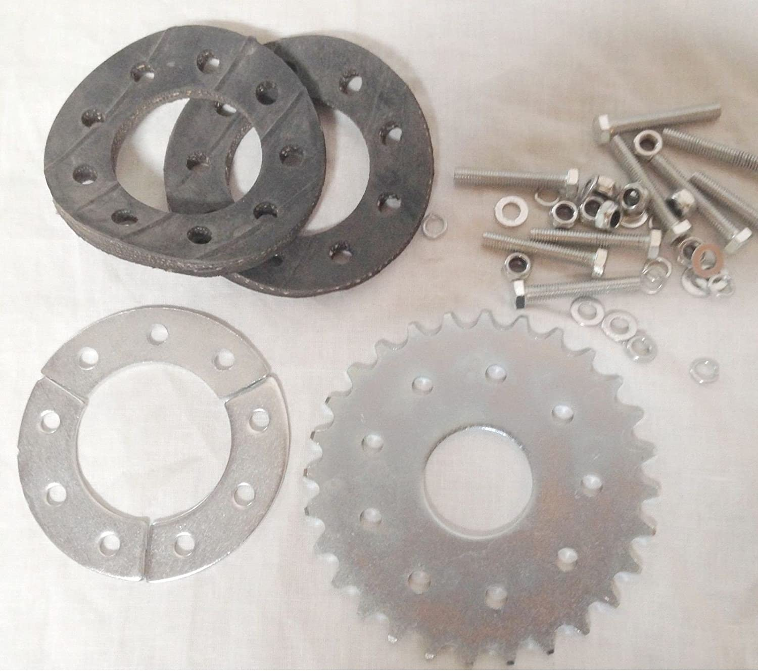 28 teeth FLAT sprocket only no mount 66//80cc Motor bicycle GAS ENGINE parts
