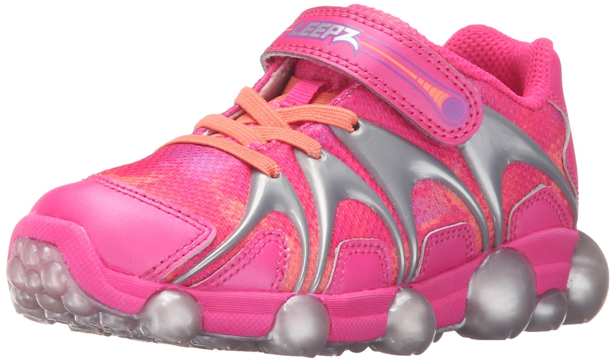 Stride Rite Leepz Light Up Sneaker (Toddler/Little Kid),Pink,11.5 M US Little Kid