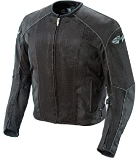 dd24f92279 Joe Rocket Phoenix 5.0 Men s Mesh Motorcycle Riding Jacket (Black Black