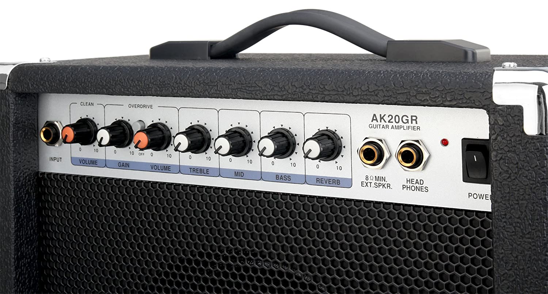 Soundking AK20-GR - Amplificador bajo eléctrico, 2 canales, 60 W: Amazon.es: Electrónica