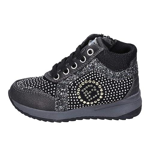 Laura Biagiotti Sneaker Bambina Tessuto Nero 25 EU  Amazon.it  Scarpe e  borse 252418f4577