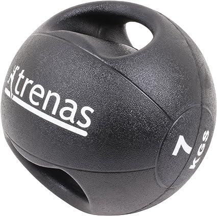 trenas Pro Balón Medicinal con Asas – 7 kg: Amazon.es: Deportes y ...