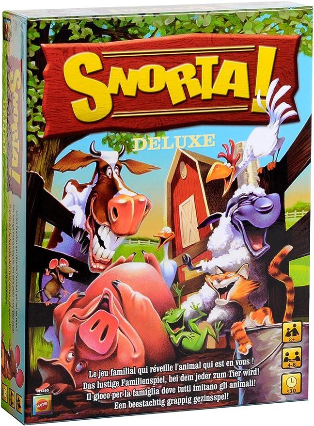 Mattel N1390-0 Snorta Deluxe - Juego de Mesa [Importado de Alemania]: Amazon.es: Juguetes y juegos