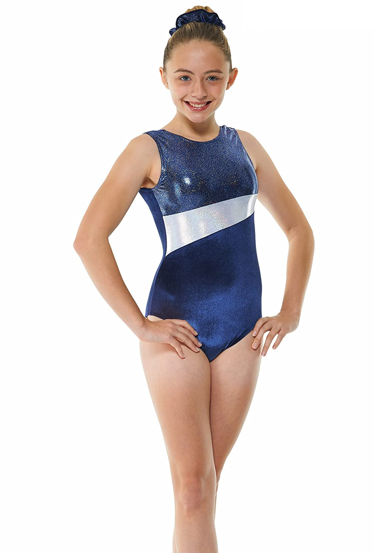 7242f6f9c360 Girls Gymnastics Leotard - Sleeveless