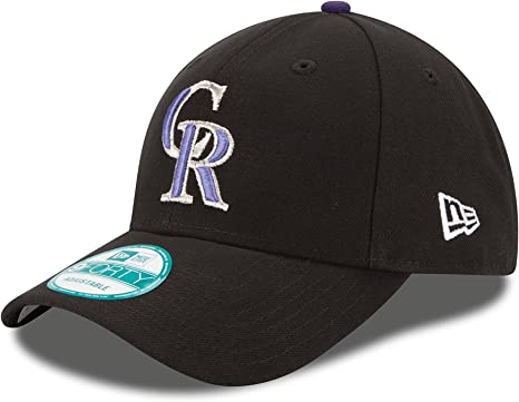 New Era The League Colorado Rockies Gm Gorra, Hombre, Negro (Black ...