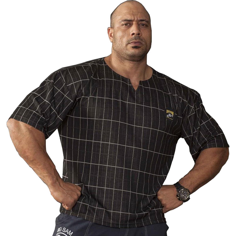 BIG SM EXTREME SPORTSWEAR Herren Ragtop Rag Top Sweater T-Shirt Bodybuilding 3124