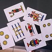 Jeu de cartes napolitain cartes plastifi/ées pour jouer /à la Scopa Briscola ou solitaire italien Fast World Shopping