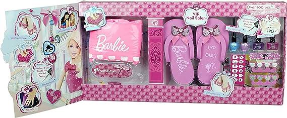 Barbie - Salón de manicura (Markwins 9449610): Amazon.es: Juguetes ...