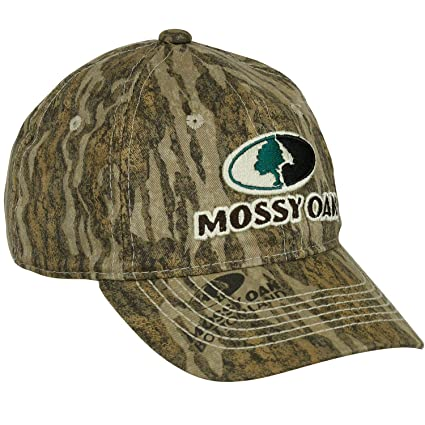 Amazon.com   Mossy Oak Youth Contrast Stitch Logo Cap   Sports ... 153dd4b44de