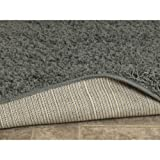 Sweet Home Stores Cozy Shag Collection Teal Solid