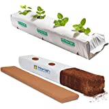 Grow Organiks Grow Bags/ Planter Bags, Heavy Duty Black-and-White Material with Coco Coir for Growing Vegetables /Plants /See