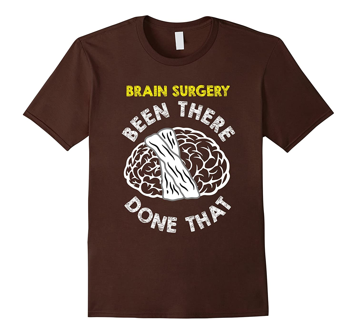 Funny Brain Surgery T-shirt Get Well Recovery Meme Gift