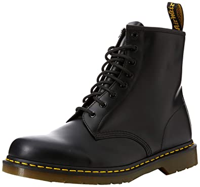 599cef970d7 Dr. Martens Air Wair Unisex boots black smooth taille 38