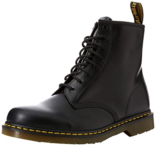 6b0aa2f597959 Dr. Martens 1460 Originals 8 Eye Lace Up Boot,Black Smooth Leather,3