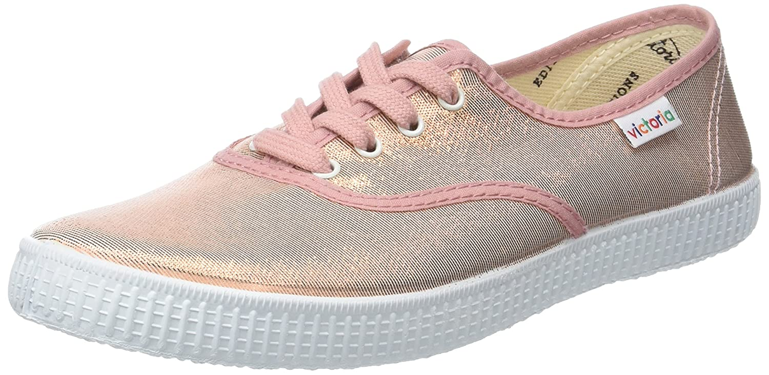 Victoria Ingles Tejido Tornosolado, Baskets Basses Tejido Femme (Nude) Basses Rose (Nude) 15a41bf - therethere.space