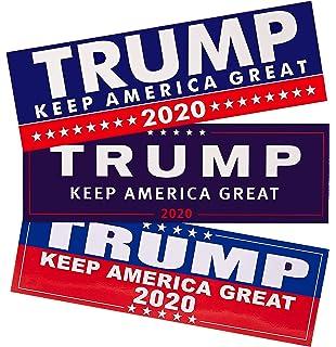 "Trump Pence 2020 Sticker 8.8/"" x 3/"" President Decal Bumper Sticker 2020"