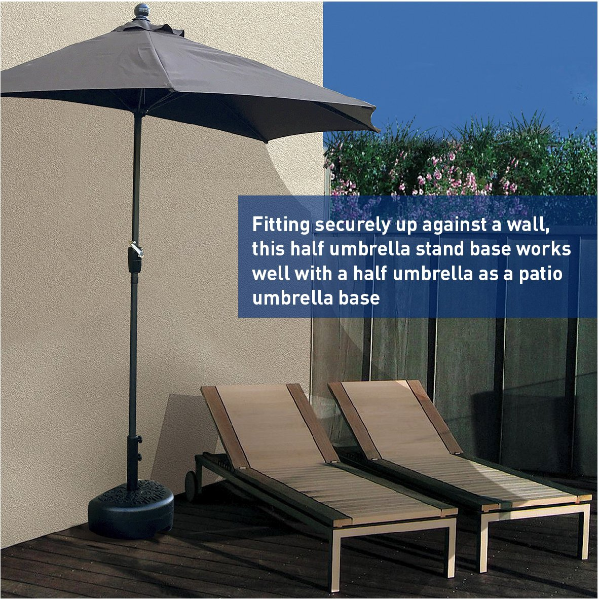 umbrella wicker cantilever garden furniture piece by direct moon set curved product parasol patio home today half foot free shipping with overstock