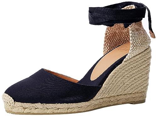 Castañer Carina/8/001, Alpargatas para Mujer: Amazon.es: Zapatos y complementos