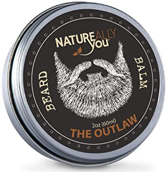 NATUREALLY YOU© - Beard Balm - The Outlaw Scent - (2 oz) - Condition,  Smooth, Soften, Tame,
