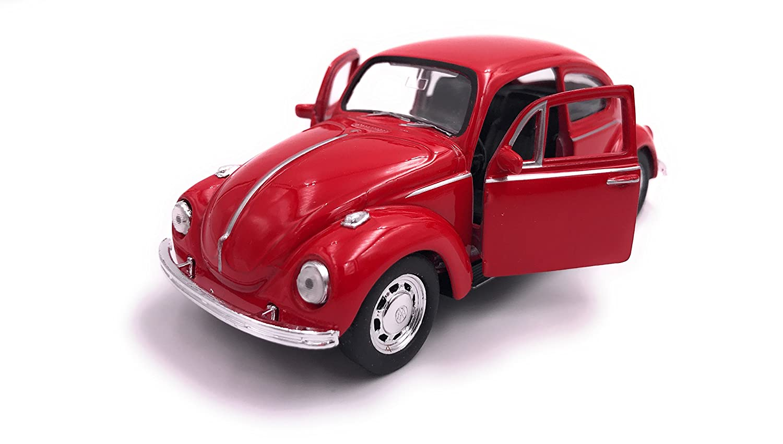 Welly Kä fer Beetle Modellauto Auto Lizenzprodukt 1:34-1:39 Rot OVP hcmkaeferrot2