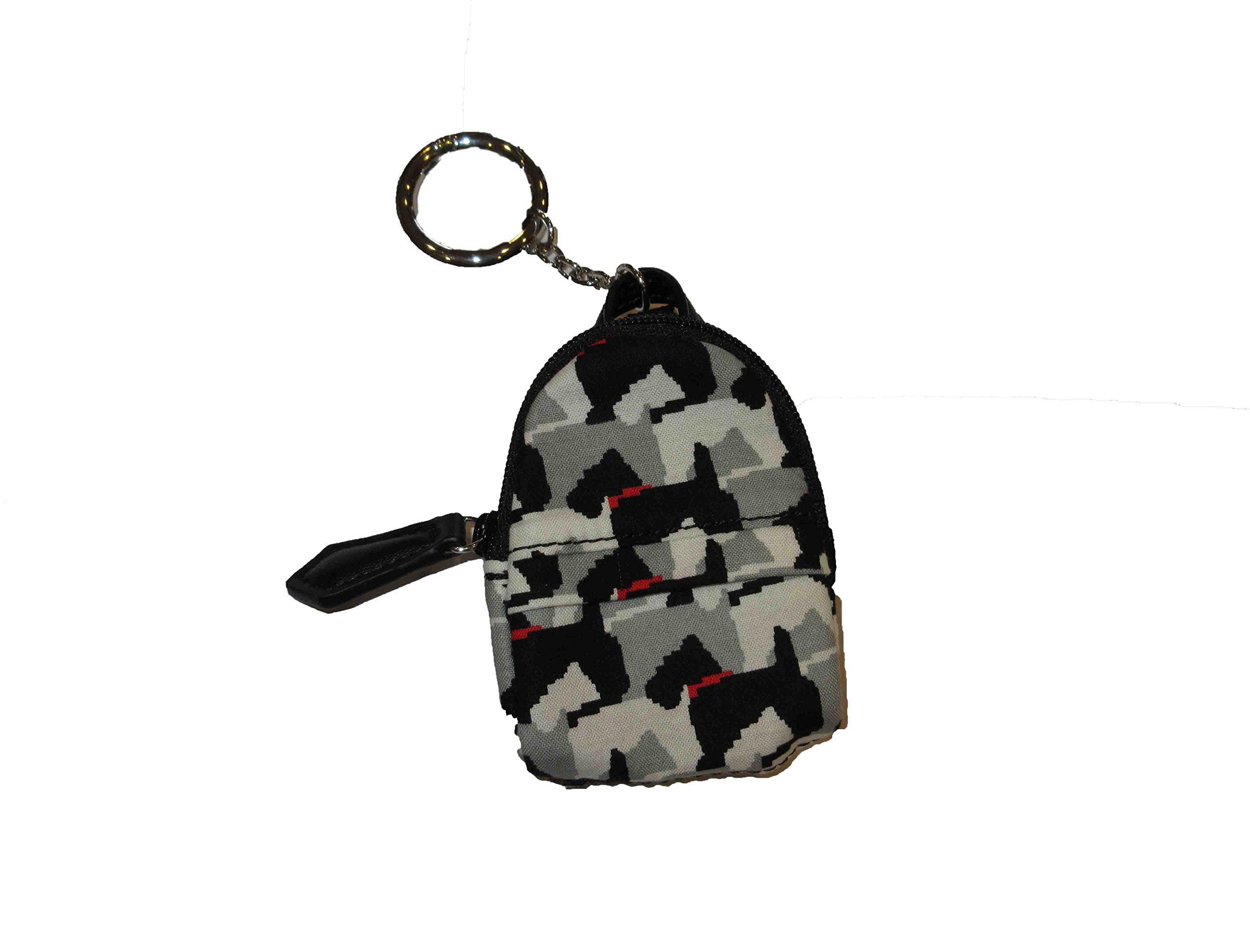 Vera Bradley Micro Backpack Charm in Scottie Dogs