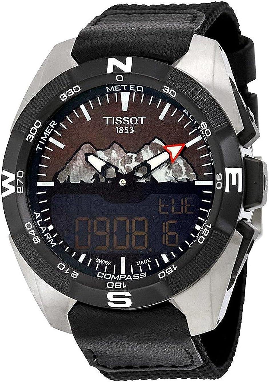 Tissot T-Touch Expert T091.420.46.051.10 - Reloj solar Jungfraub
