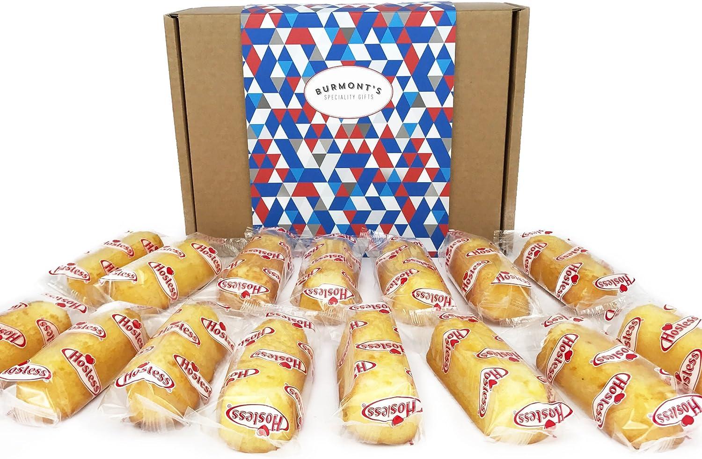 Hostess Twinkies Caja De Regalo De Gran Variedad Americana - 15 Tartas Originales, Especias Y Banana - Cesta Exclusiva Para Burmonts: Amazon.es: Alimentación y bebidas
