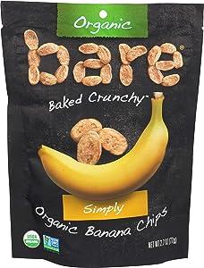 Bare, Banana Chips Simply Organic, 2.7 Ounce