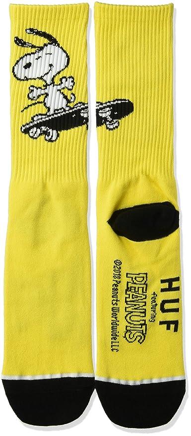 834bfd187c Amazon.com  HUF Men s Peanuts Snoopy Skate Crew Sock