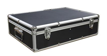 1000 CD DVD Black Aluminum Media Storage Case Mess-Free Holder Box with Sleeves  sc 1 st  Amazon.com & Amazon.com: 1000 CD DVD Black Aluminum Media Storage Case Mess-Free ...