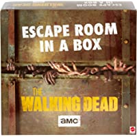 Escape Room in a Box:The Walking Dead Board Game, Party Game for 4 to 8 Players with Clues & Puzzles Inspired by AMC TV…