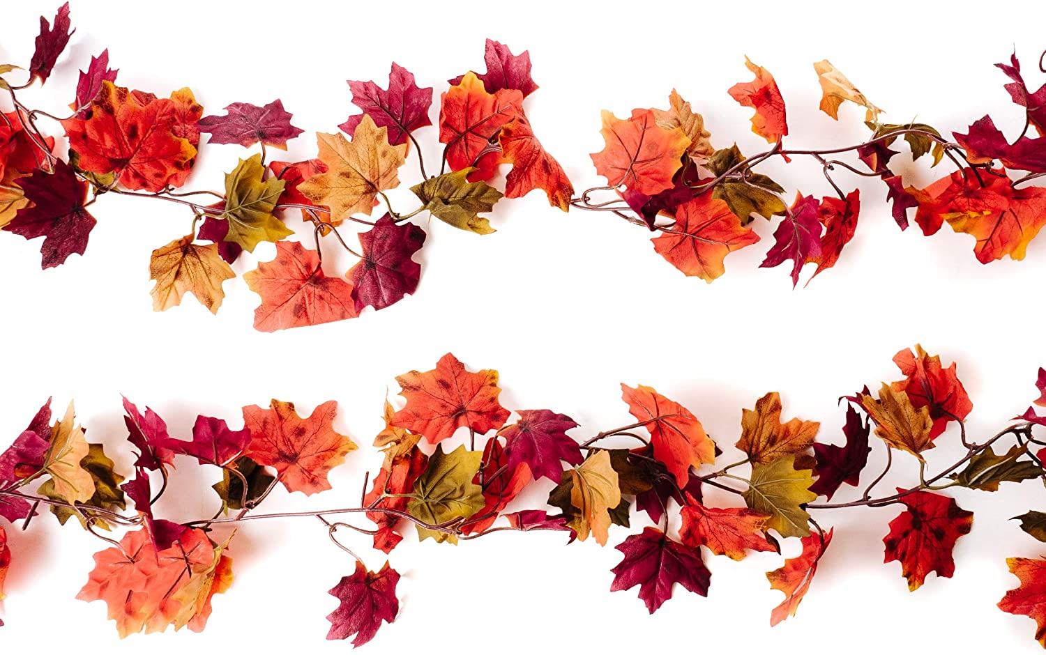CraftMore Autumn 70 Inch Garland - 2 Pack