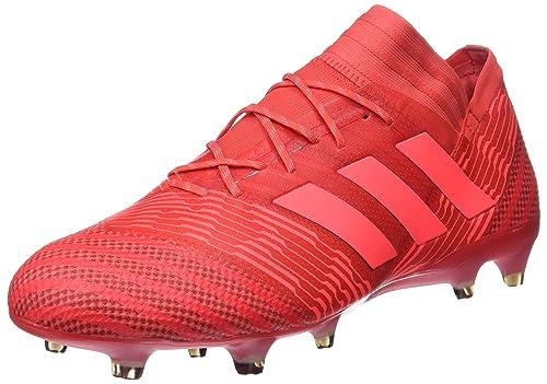 new product 51977 d5433 adidas Nemeziz 17.1 Fg, Scarpe da Calcio Uomo, Rosso neonrot, 40 EU